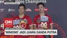 VIDEO: 'The Minions' Juara Ganda Putra BWF China Open 2019