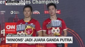 VIDEO: 'The Minions' Juara Ganda Putra BWF China Open 2019