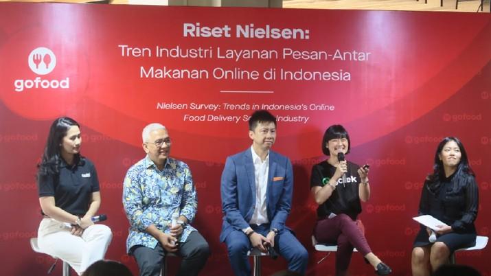 GoFood kuasai 75% Pangsa Pasar Indonesia
