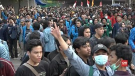 VIDEO: Aksi Mahasiswa di Sejumlah Daerah