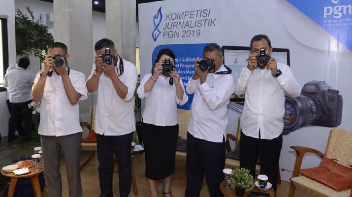 PT Perusahaan Gas Negara Tbk menggelar kompetisi jurnalistik untuk meningkatkan kualitas produk jurnalistik di Indonesia.