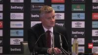 VIDEO: MU Akui Sulit Cetak Gol Lawan West Ham United