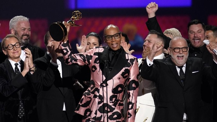 71st Primetime Emmy Awards - Show - Los Angeles, California, U.S., September 22, 2019. RuPaul accepts the award for Outstanding Competition Program for