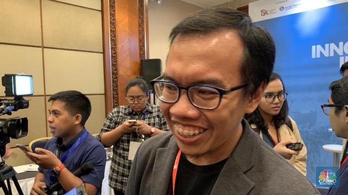 Muhammad Fajrin Rasyid, Co-Founder and President, Bukalapak (CNBC Indonesia/Lynda Hasibuan)