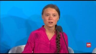 VIDEO: Pidato Berapi-api Aktivis Iklim Swedia di PBB