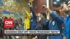 VIDEO: Mahasiswa Sebut DPR 'Dewan Pengkhianat Rakyat'