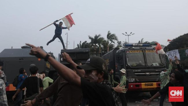 Polisi Tetapkan 24 Mahasiswa dan 12 Pelajar Tersangka Demo