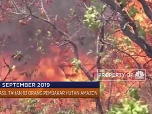 Dari Demo Mahasiswa Hingga Penanganan Kebakaran Hutan Amazon