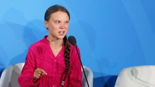 Donald Trump Sarankan Greta Thunberg 'Bersantai'