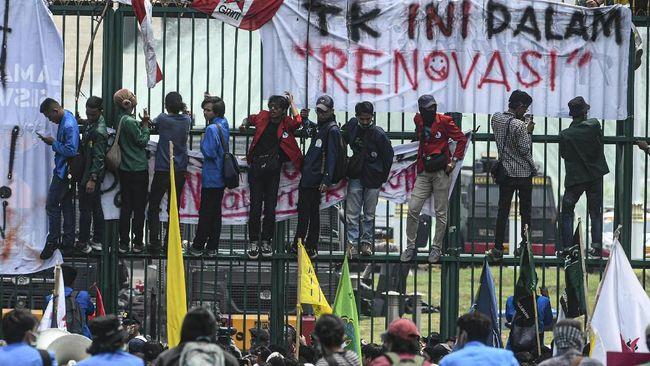 Mahasiswa Tolak Permintaan Polisi Utus Perwakilan Masuk DPR