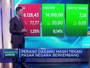 Bursa Global Melemah, IHSG Sesi I Terkoreksi 1,26%
