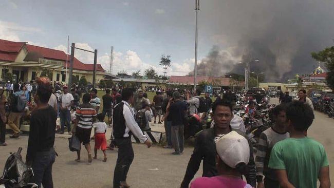 Korban Tewas Kerusuhan Wamena Capai 22 Orang