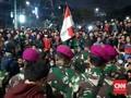 Aparat Mulai Tinggalkan Flyover Senayan