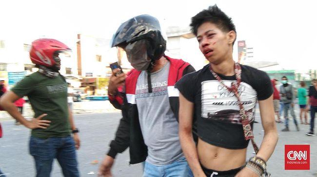 Empat Mahasiswa Pengunjuk Rasa di Makassar Ditangkap