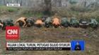 VIDEO: Hujan Lokal Turun, Petugas Karhutla Sujud Syukur