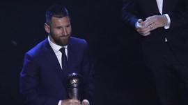 Messi-Ronaldo Dianggap Tak Layak Masuk Tim Terbaik FIFA