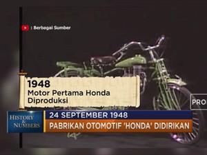 Sejarah Awal Mula Pabrikan Otomotif 'Honda' Didirikan