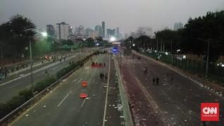 Demo Ricuh, Tol Dalam Kota Depan DPR Dialihkan