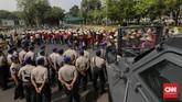 Sejumlah kelompokpetanimenilai beberapa kebijakan dalam RUU SBPB memberatkan petani kecil dan bertentangan dengan UUD 1945sertaputusan Mahkamah Konstitusi.(CNN Indonesia/Adhi Wicaksono).