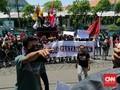 Sejumlah Rektor di Surabaya Bebaskan Mahasiswa Unjuk Rasa