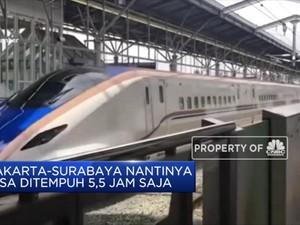 Indonesia dan Jepang Sepakat Bangun Kereta Semi Cepat