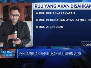 Jelang Ketok Palu RUU APBN 2020 Hingga RUU Pemasyarakatan