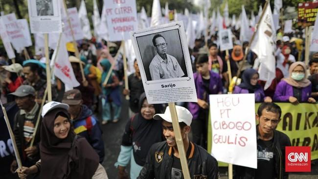 Kriminalisasiterkait dengan kegiatan perorangan dalam pencarian dan pengumpulan sumber daya genetik tanpa izin.Hal itu juga dianggapbertentangan dengan Putusan MK terhadap UU Sistem Budidaya Tanaman. (CNN Indonesia/Adhi Wicaksono).