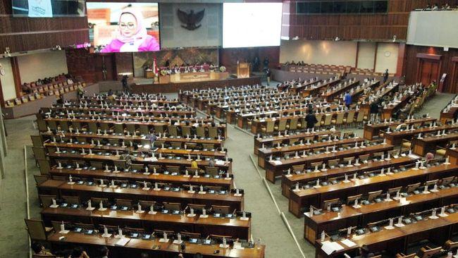 Pimpinan DPR Baru: Puan, Azis, Dasco, Cak Imin dan Gobel