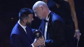 Lionel Messi Pemain Terbaik FIFA 2019