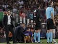Messi Tertangkap Kamera Ngotot Ingin Main Saat Cedera