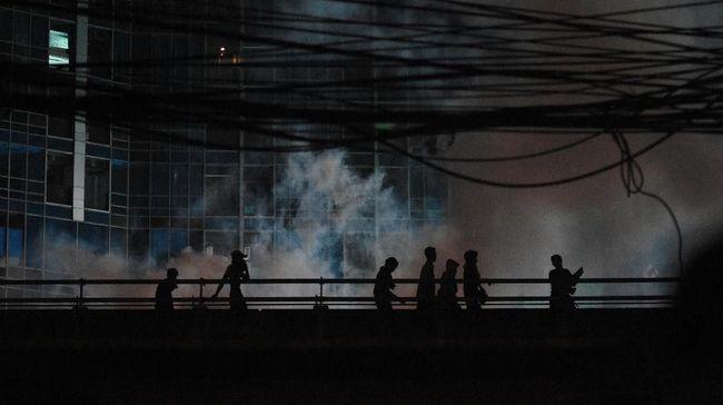 Tawuran Manggarai Kembali Ganggu Perjalanan KRL