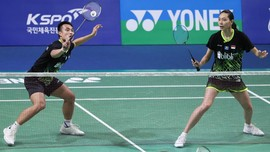 Hafiz/Gloria Gagal Melangkah ke Final Hong Kong Open