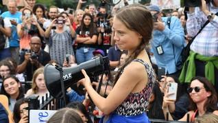 Aktivis Iklim Greta Ladeni Cuitan Trump di Twitter