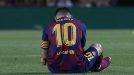 Enrique: Saya Tak Mungkin Ajari Messi Menggiring Bola