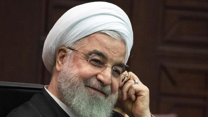 Demikian disampaikan Rouhani dalam pidato yang disiarkan televisi nasional Iran, Kamis (16/1/2020) waktu setempat.