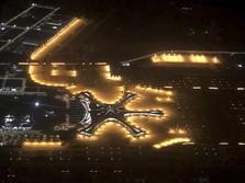 Bandara China Seluas 100x Lapangan Bola Beroperasi Hari Ini