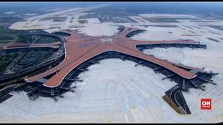 VIDEO: Penampakan Bandara Terbesar di Dunia