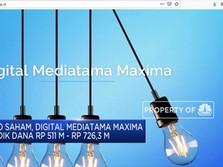 Digital Mediatama Maxima Bidik IPO Hingga Rp 726,3 Miliar