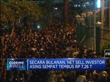 Akibat Demo, Asing Keluar dari Bursa Saham Hampir Rp 1 T