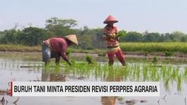 VIDEO: Buruh Tani Minta Presiden Revisi Perpres Agraria