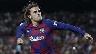 Tak Ada Messi, Griezmann Jadi Pahlawan Barcelona