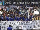 Lautan Demo, Investor Asing Bawa Kabur Rp 7 T
