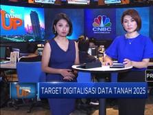 Target Digitalisasi Data Tanah 2025