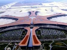 100 Kali Lapangan Bola, Bandara Daxing China Terbesar Dunia?