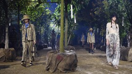 FOTO: Back to Nature ala Dior di Paris Fashion Week
