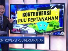 Kontroversi RUU Pertanahan