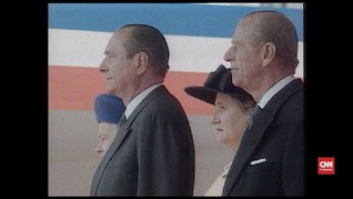 VIDEO: Eks Presiden Prancis Jacques Chirac Tutup Usia