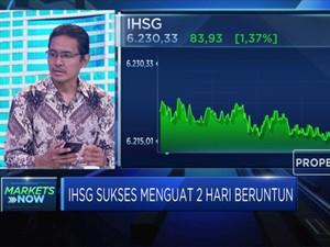 Investor Mulai Net Buy, IHSG Menguat 1,37%