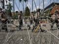 Ribuan Mahasiswa Demo DPRD Surabaya untuk Sidang Rakyat