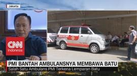 VIDEO: PMI Bantah Ambulansnya Membawa Batu